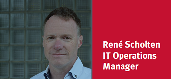 Rene Scholten IT operations manager